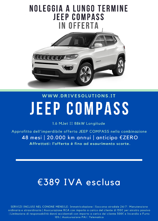 Noleggiare | Jeep Compass