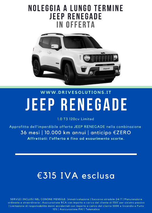 Noleggiare | Jeep Renegade