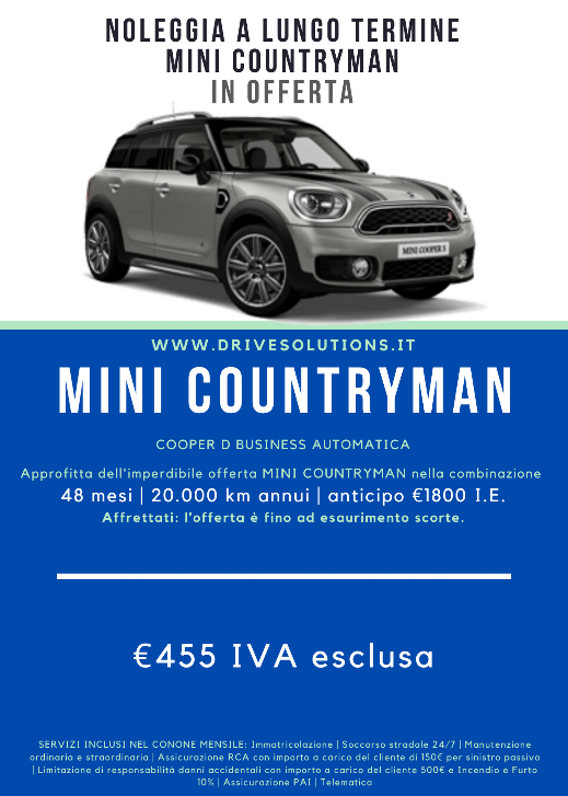 Noleggia Mini Countryman