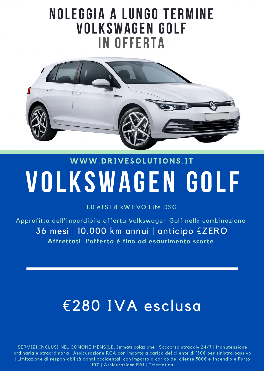 Noleggiare | Volkswagen Golf